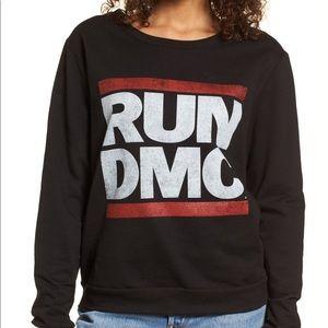 Run DMC Day by Daydreamer Cotton Sweatshirt SzM